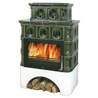 Керамическая печь-камин KARELIE, с теплообменником - ABX