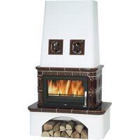 Керамическая печь-камин LAPONIE, с теплообменником - ABX