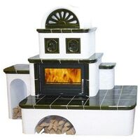 Керамическая печь-камин OXFORD - ABX