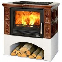 Керамическая печь-камин PANONIE - ABX