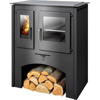 Кухонная печь-камин Thasoss - ABX