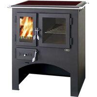 Кухонная плита с духовкой (стеклокерамика) - ABX