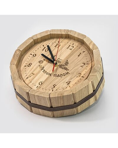 Часы «Бочка» D-300 (дуб)
