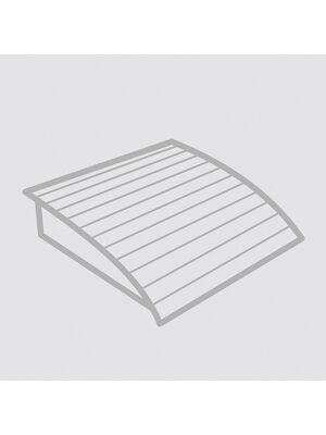 Подголовник пружинный анатомический (фигурная рейка) ТЕРМО