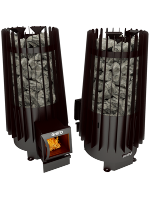 Печь для бани Cometa Vega 180 long black — Grill`D
