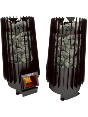 Печь для бани Cometa Vega 180 short black — Grill`D