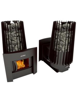 Печь для бани Cometa Vega 180 window black — Grill`D