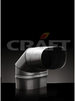 Отвод горизонтальный 90°(мен.) - Craft