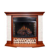Каминокомплект Country - Орех/Сланец белый с очагом Dioramic 28 LED FX - Royal Flame