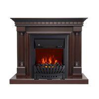 Каминокомплект Dallas - Темный дуб с очагом Aspen Black - Royal Flame