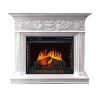 Каминокомплект Palace - Белый с серебром с очагом Vision 30 EF LED FX - Royal Flame