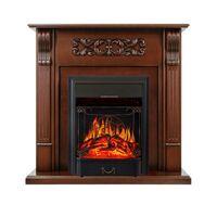 Каминокомплект Venice - Махагон коричневый антик с очагом Majestic FX Black - Royal Flame