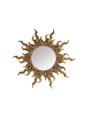 Зеркало АртДеко Солнце RF0602AB