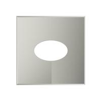 Фланец разрезной 0/20° на трубу с изоляцией (0,5мм, нерж. 321) - Дымок