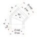 Отвод 45° с изоляцией (0,5мм, нерж. 321) - Дымок
