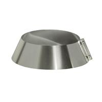 Юбка на трубу с изоляцией (0,5мм, нерж. 321) - Дымок