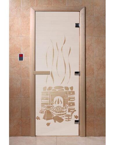 "Дверь для бани ""Банька сатин"" - DoorWood"