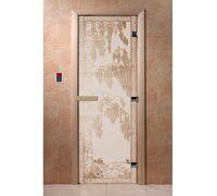 "Дверь для бани ""Березка сатин"" - DoorWood"