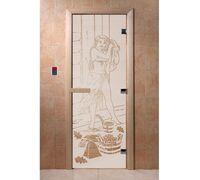 """Дверь для бани """"Дженифер сатин"""" - DoorWood"""