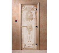 """Дверь для бани """"Египет сатин"""" - DoorWood"""