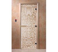 """Дверь для бани """"Флоренция сатин"""" - DoorWood"""