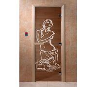 """Дверь для бани """"Искушение бронза"""" - DoorWood"""