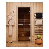 Дверь для бани Эталон Бронза - DoorWood