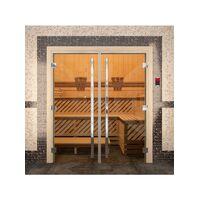 Дверь для бани Престиж Двойная - DoorWood
