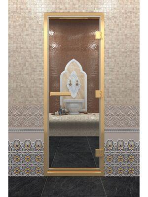"""Дверь """"Хамам в золотом профиле"""" — DoorWood"""
