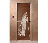 """Дверь для бани """"Рим бронза"""" - DoorWood"""