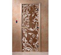 """Дверь для бани """"Венеция бронза"""" - DoorWood"""