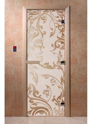 """Дверь для бани """"Венеция сатин"""" - DoorWood"""