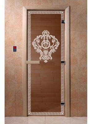 """Дверь для бани """"Версаче бронза"""" - DoorWood"""