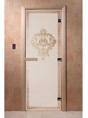 """Дверь для бани """"Версаче сатин"""" - DoorWood"""