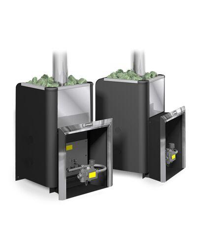 Газовая печь для бани Уралочка 16 с автоматикой