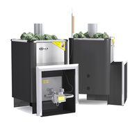 Газовая печь для бани Уралочка 20 с автоматикой