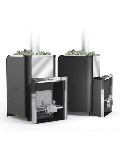 Газовая печь для бани Уралочка 24 с автоматикой