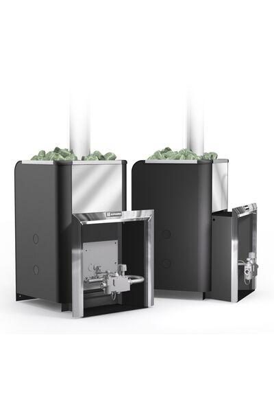 Газовая банная печь Уралочка 24 с автоматикой