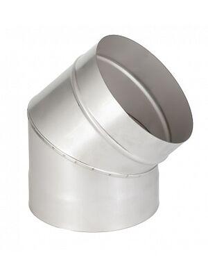 Отвод 45° одностенного дымохода  - Феникс