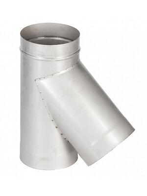 Тройник 45° одностенного дымохода  - Феникс