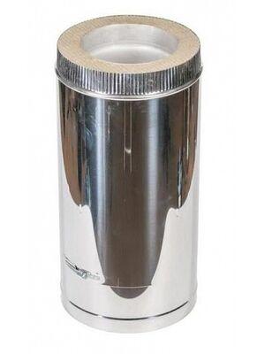 Труба телескопическая (300-450мм) сэндвич дымохода  - Феникс