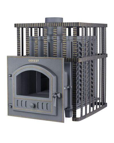 Печь для бани Гефест 40 МС (ПБ-02) с закрытой каменкой