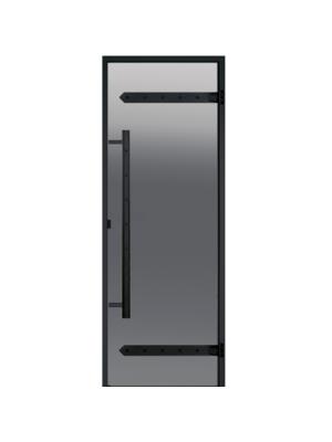 Дверь Harvia Legend STG 7*19 коробка сосна, стекло серое