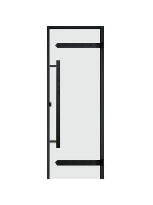 Дверь Harvia Legend STG 7*19 коробка сосна, стекло прозрачное