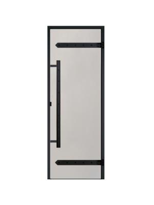 Дверь Harvia Legend STG 8*19 коробка сосна, стекло сатин