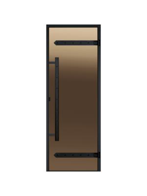 Дверь Harvia Legend STG 8*19 коробка сосна, стекло бронза