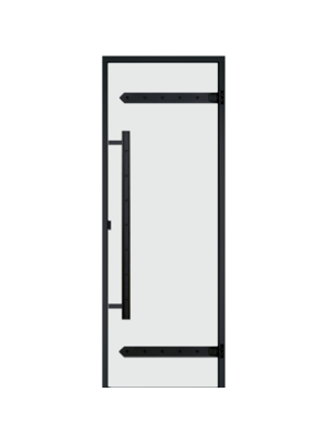 Дверь Harvia Legend STG 8*21 коробка сосна, стекло прозрачное
