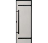 Дверь Harvia Legend STG 9*19 коробка сосна, стекло сатин