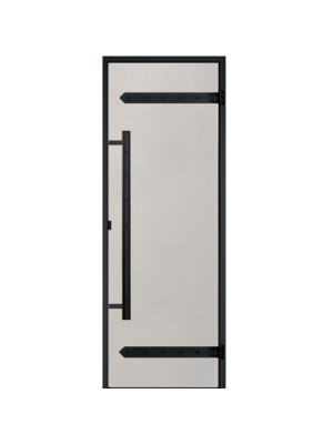 Дверь Harvia Legend STG 9*21 коробка сосна, стекло сатин
