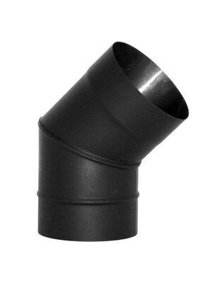 Отвод VBR 45° нерж., черный (Вулкан)